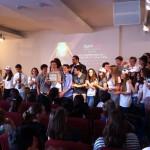 i giovani promuovono la Nonviolenza a Lightup Maggio 2015